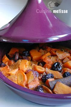 Tajine Vegan, Vegan Recipes, Cooking Recipes, Winter Vegetables, Pot Roast, Food And Drink, Veggies, Vegetarian, Breakfast