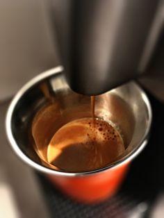Guten Morgen…der Mittwoch ist kühl,  mir egal, ich hab ja meinen #Arpeggio #Kaffee von @Nespresso #whatelse