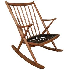 Frank Reenskaug Rocking Chair, Denmark
