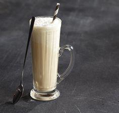 2 cups  (264 g) vanilla nonfat frozen yogurt or ice cream                                1 1/2 teaspoons instant coffee                                3/4 cup  (180 ml) milk                                1 cup  (240 ml) ice cubes