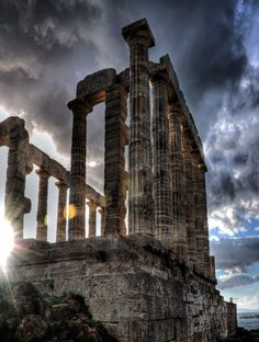 The Temple of Poseidon - Sounion, Greece #Athens_Taxi_tours #Taxi_to_Sounion http://www.athensairport.cab