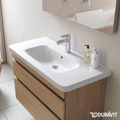 Duravit DuraStyle vanity washbasin Compact white
