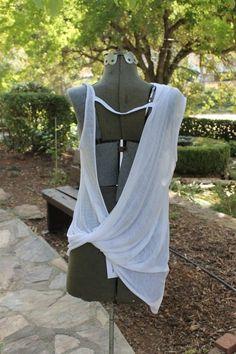 "Helmut Lang ""Threadbare T"" Cowl Back Knit Top Medium NWT Retail $185 #HELMUTLANG #KnitTop"