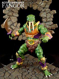 Fangor (MOTU Concept) (Masters of the Universe) Custom Action Figure