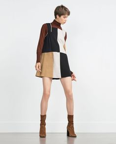 COLOR BLOCK DRESS-Collection-Woman-NEW IN | ZARA United States
