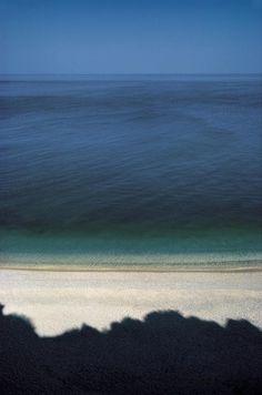 Seascape  /  Baia Delle Zagare, Puglia, Italia  -   1970   -   Franco Fontana photography   -  http://www.photoandcontemporary.com/work.aspx?wr=152&ar=3