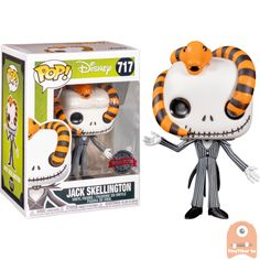 Vinyl: Disney Jack Skellington 717 Exclusive New Pop Vinyl Figures, Funko Pop Figures, Naruto, Funko Pop Avengers, Pop Figurine, Pop Characters, My Christmas List, Pop Dolls, Kawaii Cute