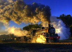 Discovering Day trips from Jo'burg. Steam train ride to Magaliesburg. Train Tracks, Train Rides, South African Railways, Old Trains, Vintage Trains, Old Steam Train, Train Tour, Bonde, Steam Engine