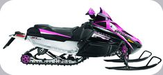 Would love this Pink Arctic Cat Snowmobile!