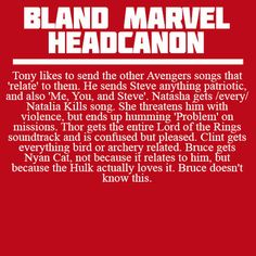 Bland Marvel Headcanons-Thor getting Lord of the Rings soundtrack. Yes, yes, yes