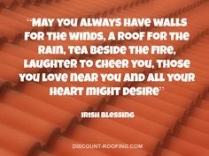 Some #inspiration in a #quote about #roofing