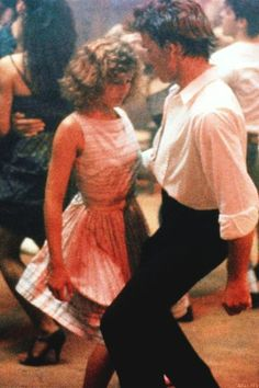 Baby and Johnny (Patrick Swayze & Jennifer Grey) Dirty Dancing, Dancing Couple, Iconic Movies, Old Movies, Classic Movies, Amazing Movies, Patrick Swayze, Jennifer Grey, Movie Couples