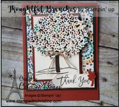 Thoughtful Branches - Bundle, Stampin' Up! Branches, Stampin Up, Thoughts, Frame, Home Decor, Picture Frame, Decoration Home, Room Decor, Stamping Up