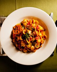 Orecchiette with Indian-Spiced Cauliflower and Peas