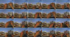 """Junebum Park - The Advertisement, 2004 - video a colori, monocanale, NTSC, sonoro, 1' 30"""" - Courtesy dell'artista e Gallery Hyundai, Seoul #perdutinelpaesaggio www.mart.tn.it/lostinlandscape"""
