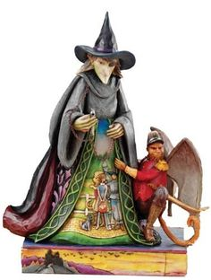 jim shore wizard of oz | Disney Jim Shore Wizard of Oz Wicked Witch Collectable Figurine | eBay