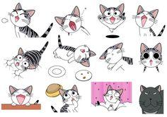 Chi's sweet home, Chii's Sweet Home, Chi, Chi's Sweet Home, Chii, cat, Noiraud, Blackie, Chi une vie de chat
