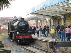 Whitby Train Station, North Yorkshire. The journey between Whitby and Middlesborough must be amont the best in the country.
