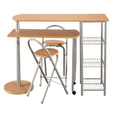 Tabouret pas cher on pinterest tabouret bar stools and kare design - Ensemble table chaise cuisine pas cher ...