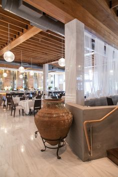 Estiatorio Milos Miami Greek Food Design By Jefferey Beers International Ny Restaurants