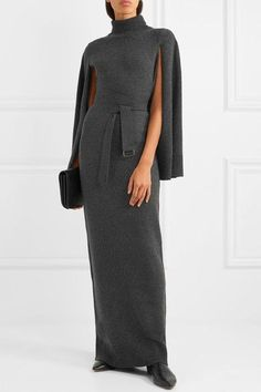 Charcoal wool and cashmere-blend  Slips on  95% wool, 5% cashmere Dry clean As seen in The EDIT magazine
