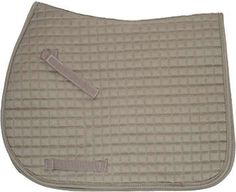 Sand Beige Khaki Brown Saddle Pad - All Purpose Style by Pink Equine | Bon-Vivant Equestrian Horse Tack