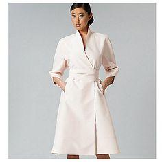 Buy Vogue Ralph Rucci Women's Dress Sewing Pattern, 1239 Online at johnlewis.com