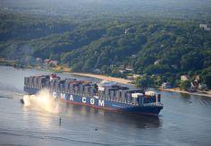 Containerschiffe | Hafen Hamburg