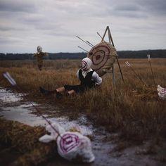 金縛りに苦しむアーティストが自身の経験を具現化したフォトアート : カラパイア