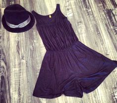 #cutest #little #black #short #romper #easy #dressup or #dressdown #spring #fashion #new #arrivals #fedora #shop #societyfemme