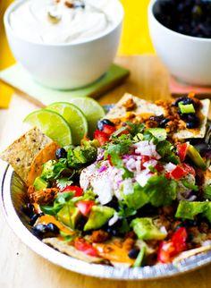 Vegan Nachos for all! Cinco de Mayo Recipe. - Healthy. Happy. Life.