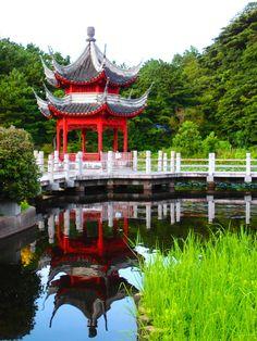 Sankeien Garden in Japan