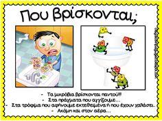 Όλα για το νηπιαγωγείο! Classroom Routines, Human Body, Kindergarten, Activities, Education, School, Blog, Leather, School Routines