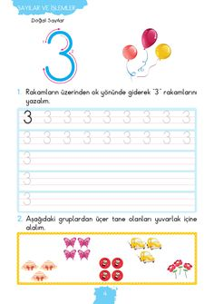 Handwriting for kids Math Activities, Preschool Activities, Handwriting Activities, Gymnasium, Number Worksheets, Writing Numbers, Book And Magazine, Math For Kids, Math Centers