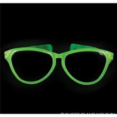 80465f7b10 These oversized glasses are definitely a must have party or festival  accessory. Large novelty glasses that glow in the dark. From 144 wholesale  units.