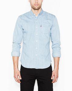 Levi's classic overhemd nu met 30% korting! #mannen #heren #mode #uitverkoop #sale #blouse #shirt #men #fashion