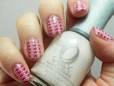 The Nail Polish Challenge: Valentine's Day Manicure #4: Stamping!