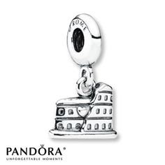 Pandora Dangle Charm  Colosseum Sterling Silver ~ To remember our trip to Italy. ~ Bought end of August 2013
