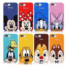 Diy Phone Case 638596422145610515 - Cartoon Minnie Goofy Daisy Soft Silicone Phone Case For Iphone X 6 7 8 Plus Source by Friends Phone Case, Diy Phone Case, Iphone 32gb, Iphone Cases, Electronics Projects, Daisy, Silicone Phone Case, 3d Cartoon, Disney Diy