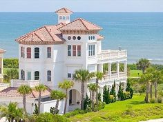 Beach Mansion! I think I could wake up to that everyday!