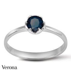 Pierścionek z szafirem Sophie ● www.Verona.pl/8554-pierscionek-z-szafirem-sophie-ps31590-bb000-sfg000-000 #jewellery #ring #accessories #blingbling #details #shining #classy #sale #greatprice #buyonline #verona #jewelleryfreak #jewellerylover #jewelleryobcessed #jewelry #jewels