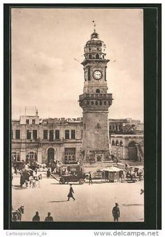 Bab alfaraj square Aleppo Syria - 1920