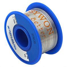 Sywon 60-40 Rosin Core Spool Solder Wire 0.039'' 0.11lb S... https://www.amazon.com/dp/B01LVTTL9E/ref=cm_sw_r_pi_dp_x_Mofnyb14ZWYFM
