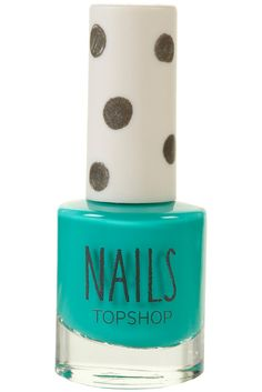 Topshop mail polish on green room