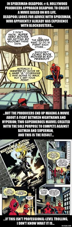 "I guess Batman V Superman is going to be the ""7-1"" of the superhero movies - 9GAG"
