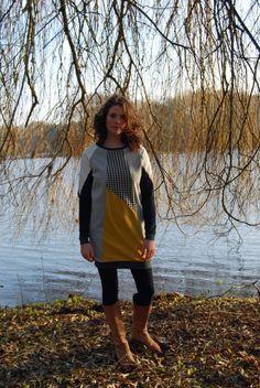 geometric sweater dress ASWDR15. size S