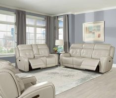 Parker Living Everest Livingroom Set with USB & Power Headrest in Cloud Parker House, Soft Seating, Power Recliners, High Quality Furniture, Reclining Sofa, Living Furniture, Living Room Sets, Cool Items, Sofa Set