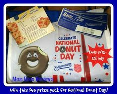 "Enter to win an Entenmann's Donut Prize Pack ($45 value)! Includes: Entenmann's Red Velvet Donut ""Blondie's"" Recipe Card, Entenmann's Red Velvet Ice Cream Recipe Card, (5) Entenmann's Freebie Coupons ($7 Value Each), and Entenmann's Reusable Drawstring Bag ($10 Value) http://kouponkrazed.com/2014/05/entenmanns-donut-prize-pack-45-value-giveaway/"