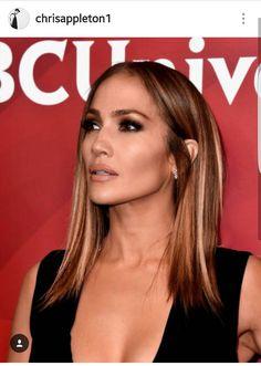 The lovely Jennifer Lopez's new lob.