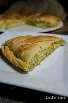 Pastry Art, Sticky Buns, Spanakopita, Greek Recipes, Baked Goods, Tart, Sandwiches, Brunch, Rolls